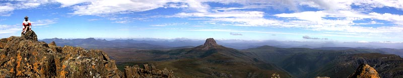 Cradle Mountain - the view from the top
