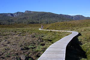 Start of the Overland Track