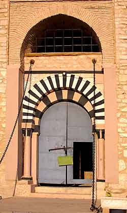 The main entrance to the Kasbah