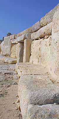 The Temple at Hagar Qim