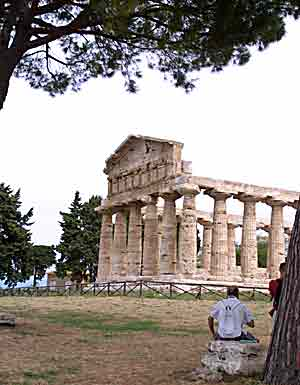 Greek temple at Paestum