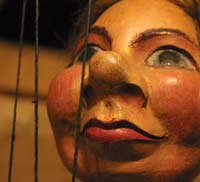 A traditional marionette