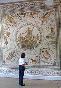 Walls of mosaics in the Bardo museum will delight you.