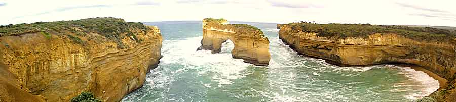 Along the Twelve Apostles Coastline
